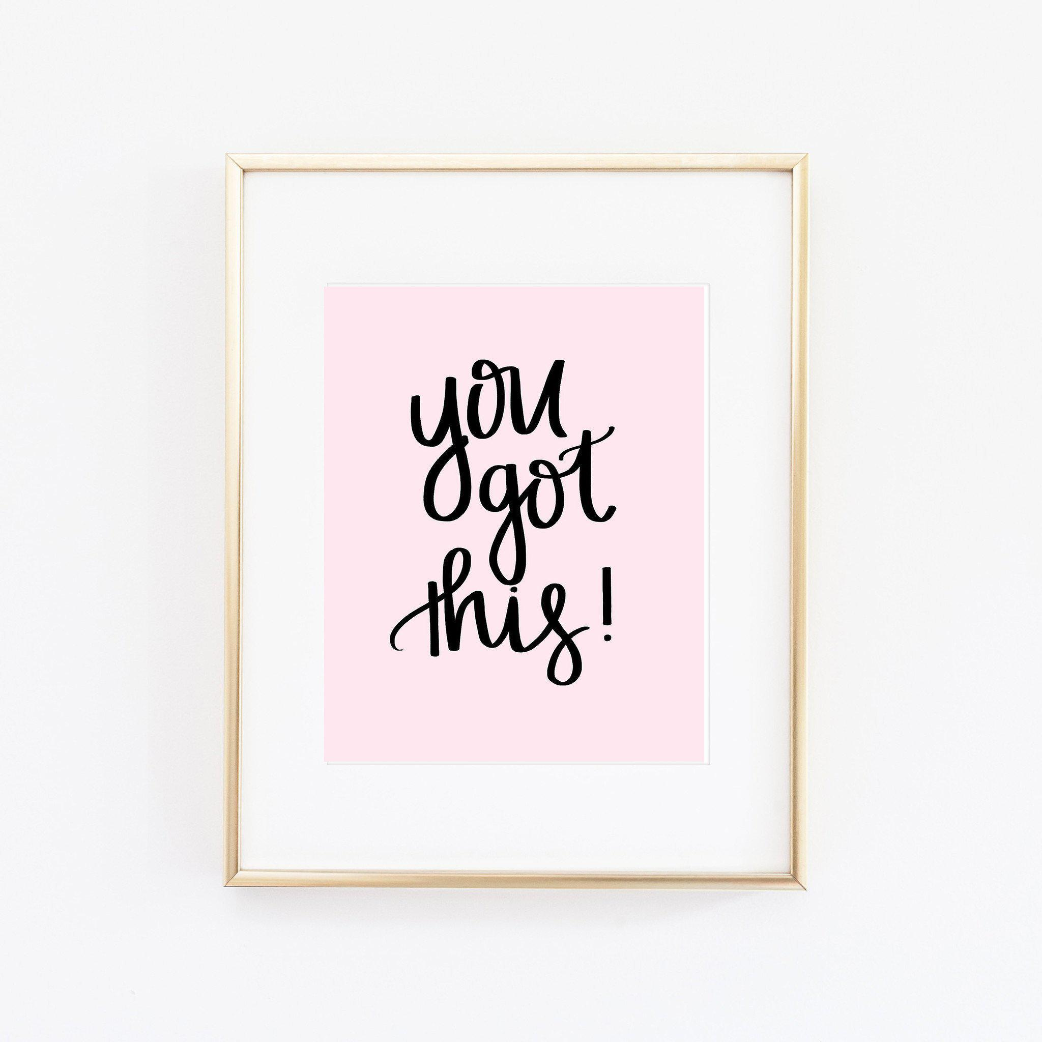 You Got This | National Wellness Month + Self Care | Sweet Water Decor
