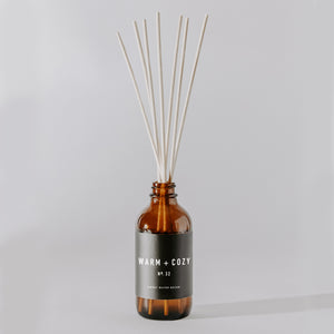 Warm and Cozy Reed Diffuser | Amber
