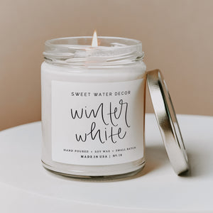 Winter White Soy Candle
