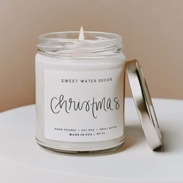 Christmas Soy Candle 1