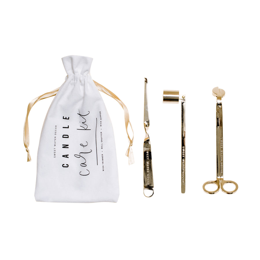 Gold Candle Care Kit