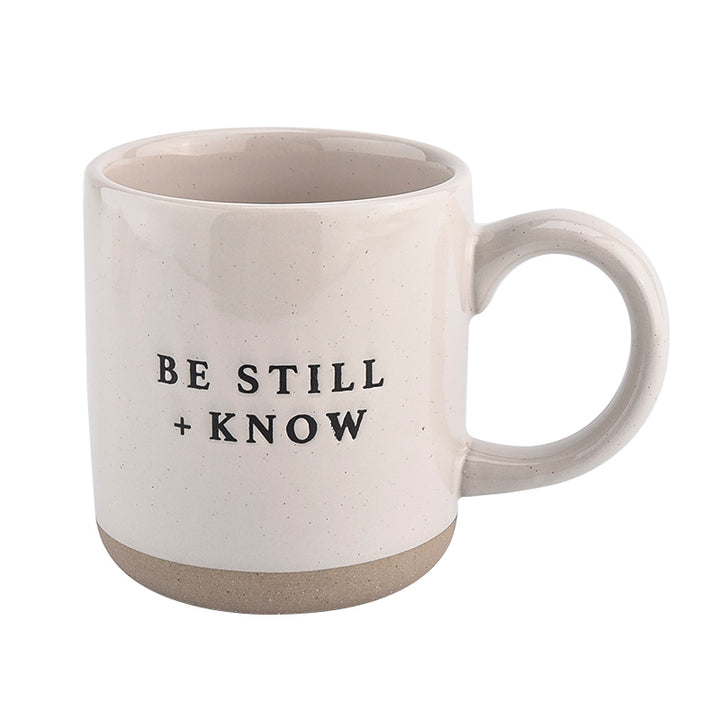 Be Still + Know Coffee Mug