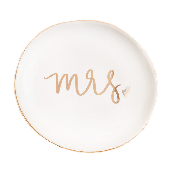 Mrs. Jewelry Dish - Sweet Water Decor - Jewelry Dishes - farmhouse decor