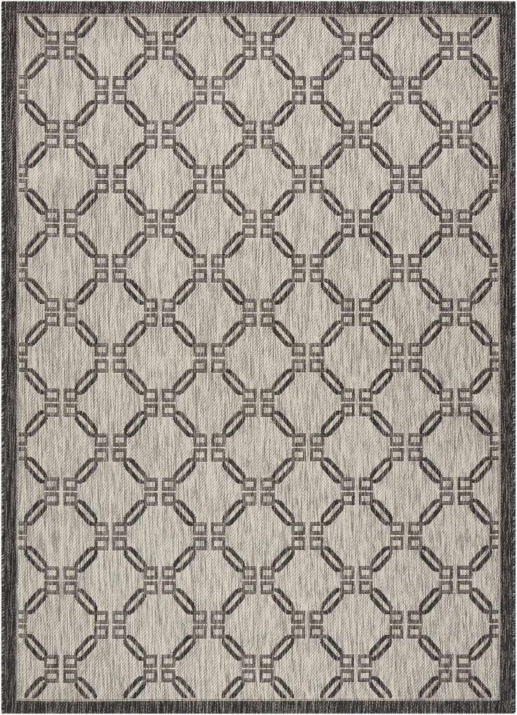 Country Side Ivory/Charcoal Indoor/Outdoor Area Rug
