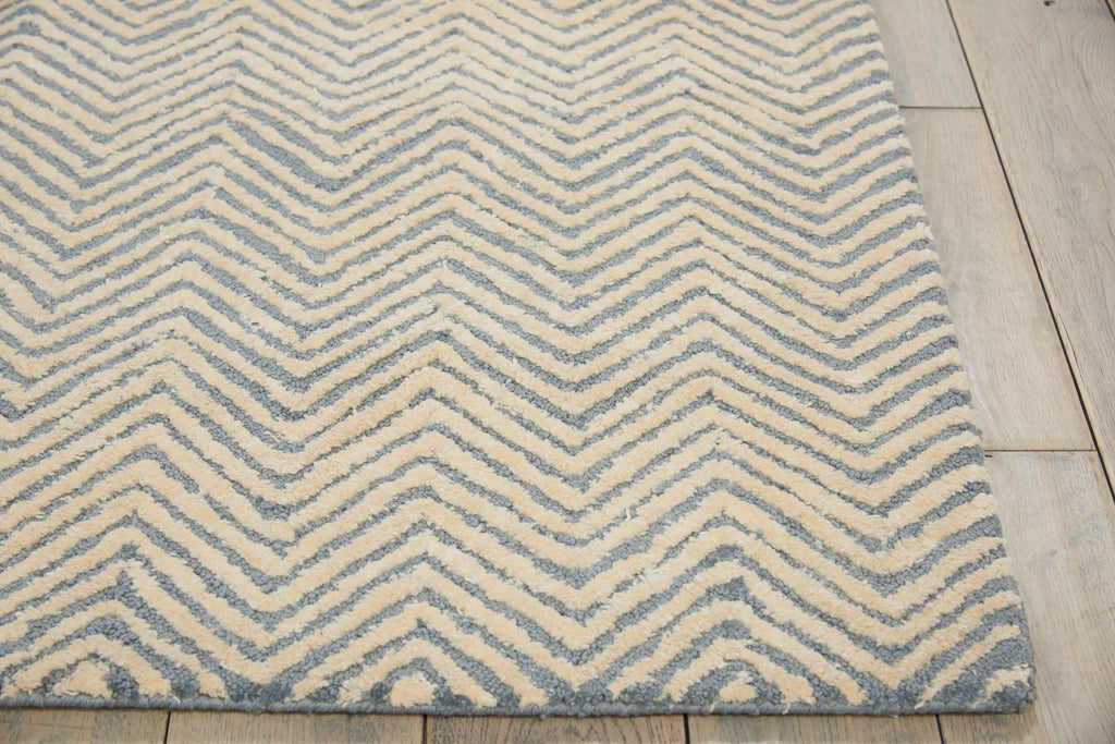 Nourison Deco Mod Light Blue/Ivory Area Rug