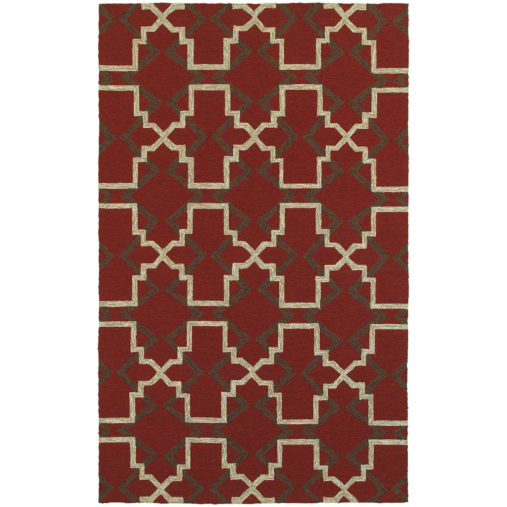 Tommy Bahama Atrium Red/ Brown