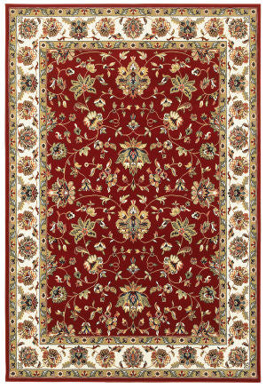 Kashan Red/ Ivory