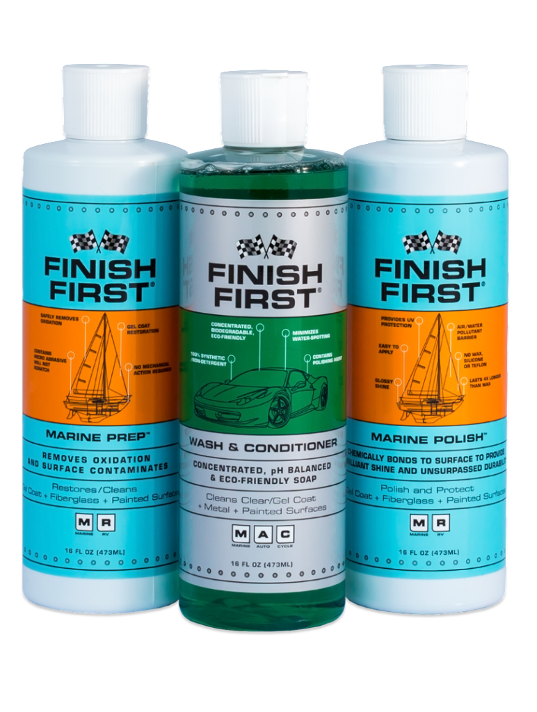 Finish First® Small Marine Kit (Recommended For Vessel's 25 Ft & Under)