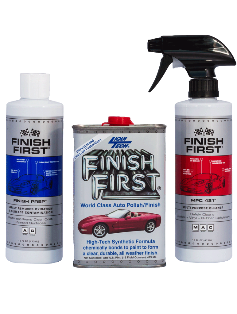 Finish First® 3 Piece Kit – Option #5