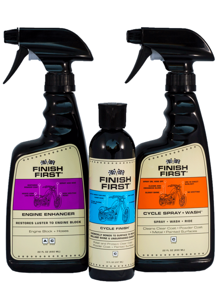 Finish First® 3 Piece Cycle Kit