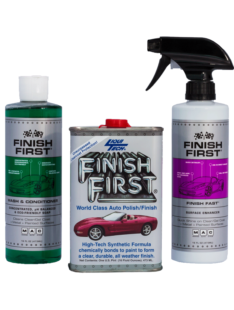 Finish First® 3 Piece Kit – Option #3