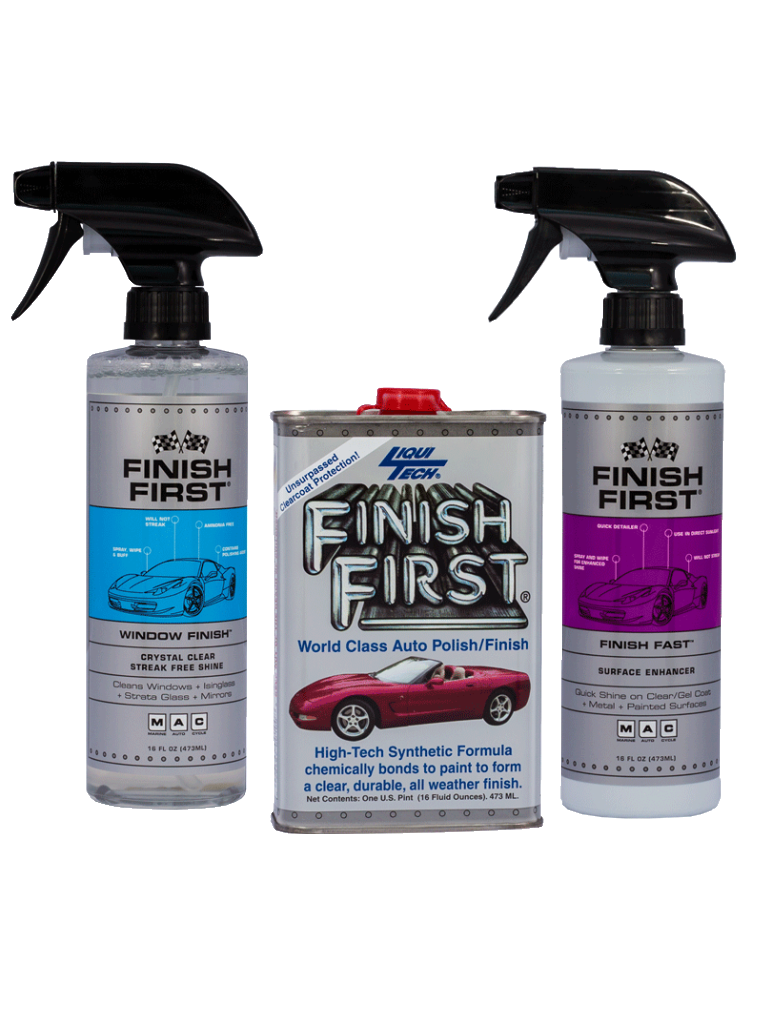 Finish First® 3 Piece Kit – Option #4