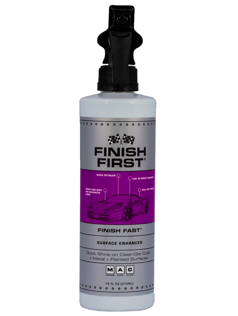 Finish First® Finish Fast™