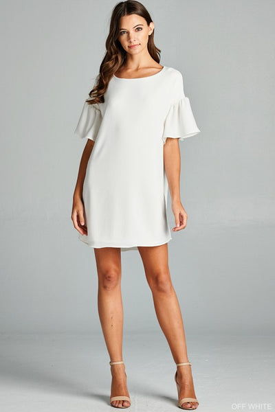 Loose Fit Dress with Bell Sleeves - 2 colors!