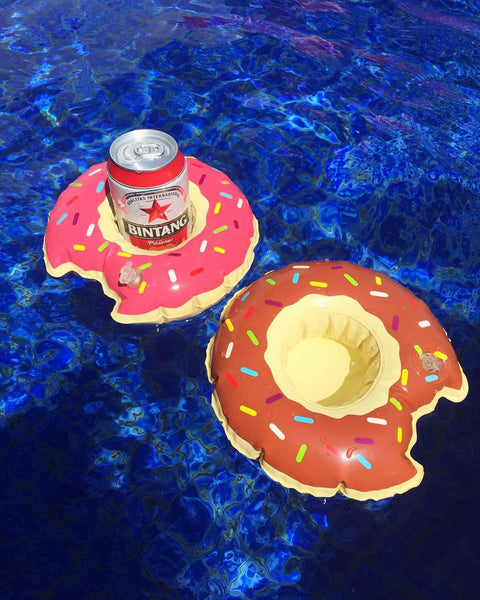 Donut Drink Holder Float - letsfloatsg