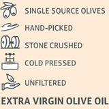Zite Zaytoon Extra Virgin Imported Unfiltered Olive Oil