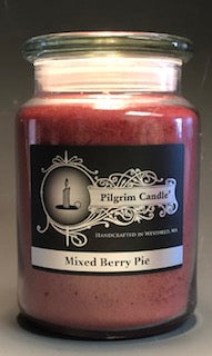Mixed Berry Pie, Large Jar Candle 24 oz