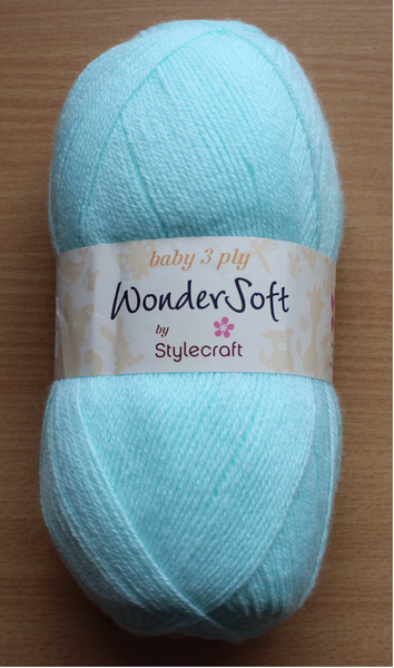 Stylecraft Wondersoft 3 Ply Yarn - 100g - 145 - The Crafty Knitter Ltd - 1