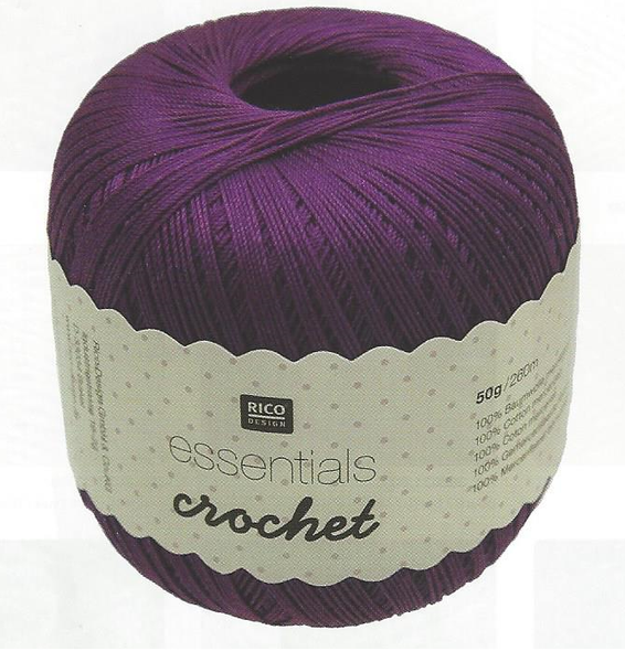 Rico Essentials Crochet Yarn - 50g - 383110 - The Crafty Knitter