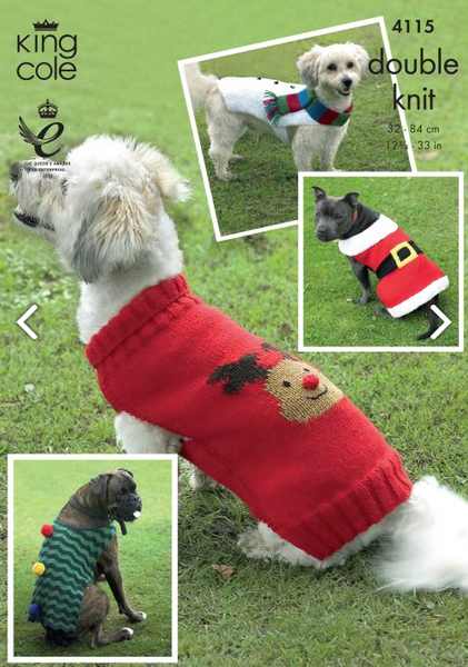 King Cole Knitting Patterns Tagged Dog The Crafty Knitter