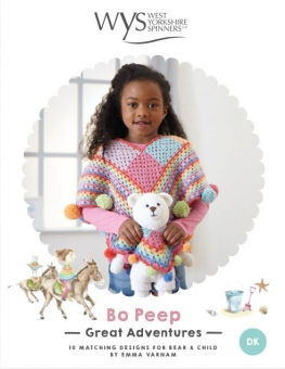 West Yorkshire Spinners Bo Peep Great Adventures Pattern Book