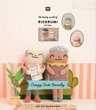 Rico Ricorumi Crochet - Crazy Cute Family Pattern Book