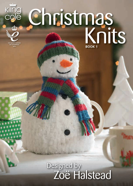 King Cole Christmas Knits Patterns Book 1 - The Crafty Knitter