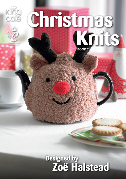 King Cole Christmas Knits Patterns Book 2 - The Crafty Knitter