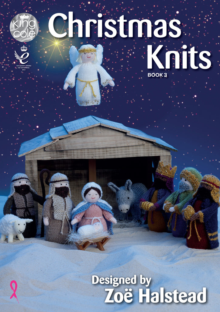 King Cole Christmas Knits Patterns Book 3 - The Crafty Knitter