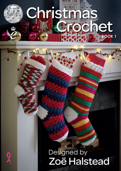King Cole Christmas Crochet Patterns Book 1 - The Crafty Knitter