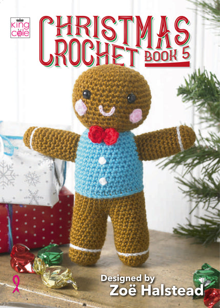 King Cole Christmas Crochet Patterns Book 5