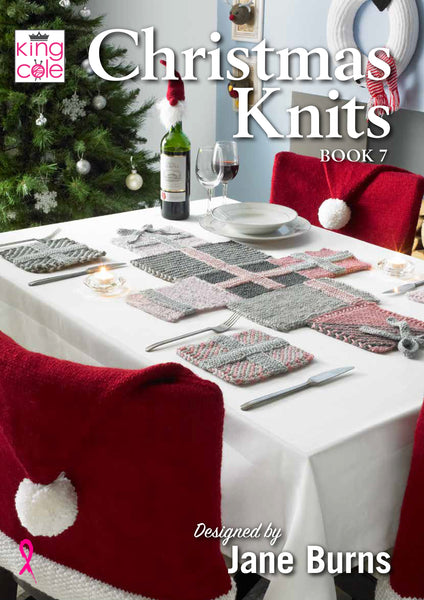 King Cole Christmas Knits Patterns Book 7