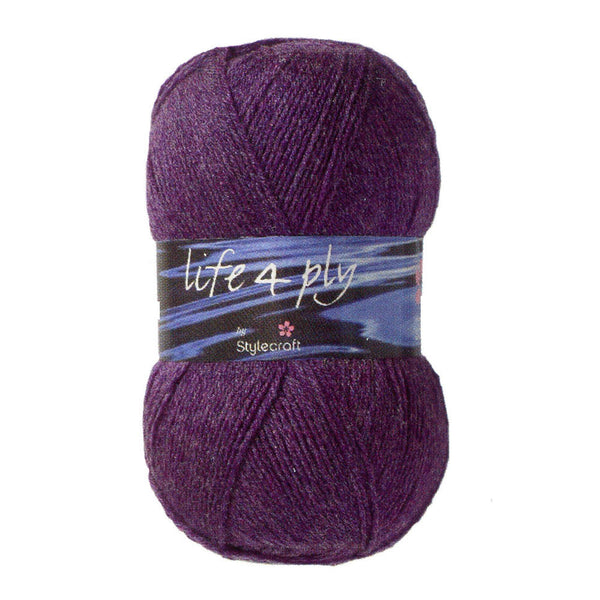 Stylecraft Life 4 Ply Yarn - 100g - 209 - The Crafty Knitter Ltd - 1