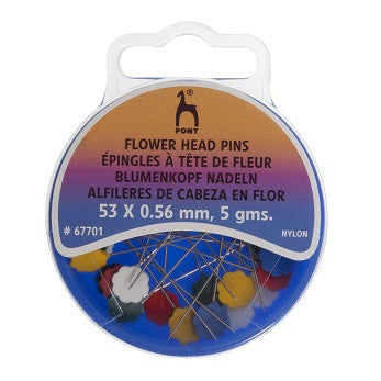 Knit Pro Flower Head Pins - 67701 - The Crafty Knitter