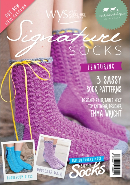 West Yorkshire Spinners Signature Socks Pattern Book - The Crafty Knitter Ltd - 1