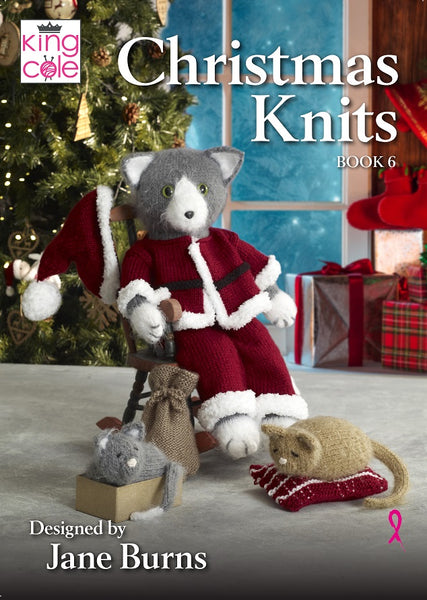 King Cole Christmas Knits Patterns Book 6
