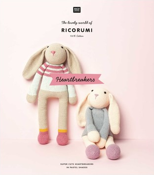 Rico Ricorumi Crochet Heartbreakers Pattern Book