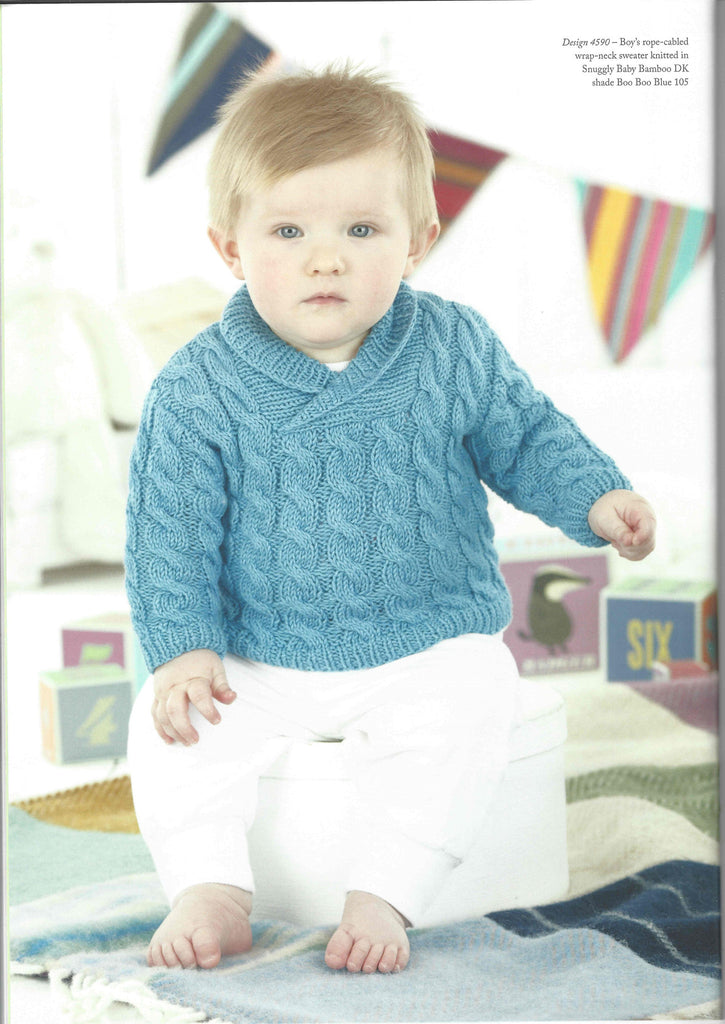Little Treasures Childrens Knitting Patterns Book By Sirdar 490b