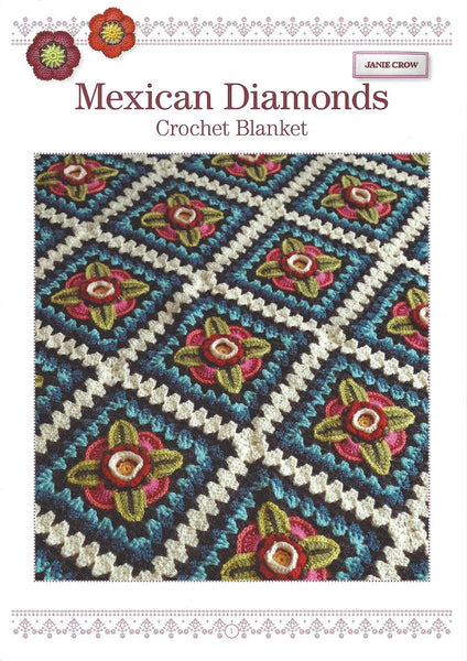 Janie Crow Mexican Diamonds Crochet Blanket