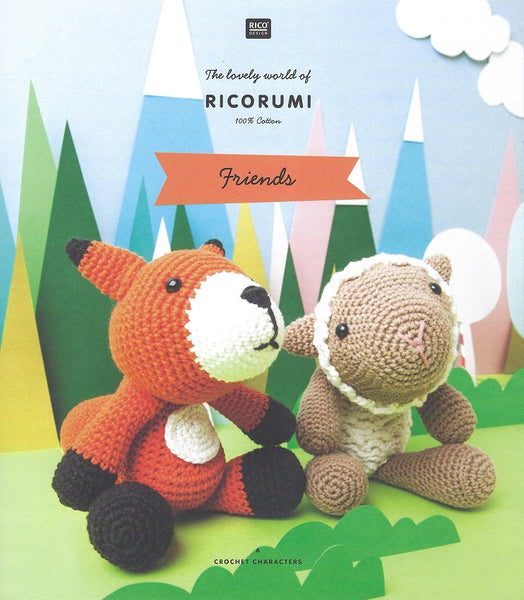 Rico Ricorumi Crochet Friends Pattern Book