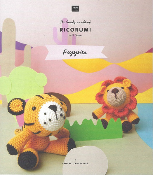 Rico Ricorumi Crochet Puppies Pattern Book