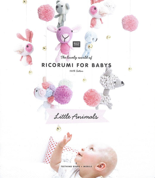 Rico Ricorumi for Babys - Little Animals - Pattern Book