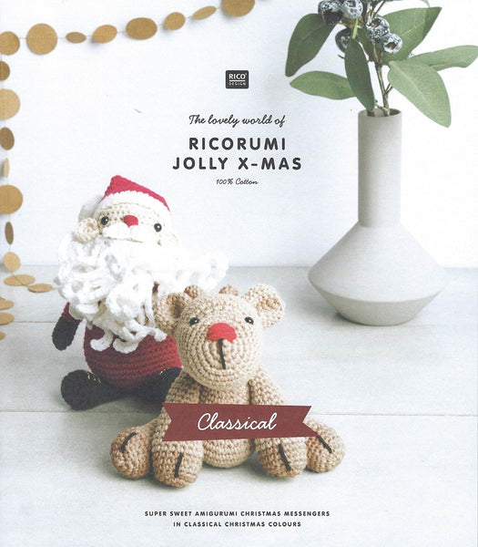 Rico Ricorumi Crochet Jolly XMAS Classical Pattern Book