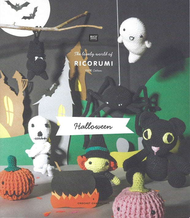 Rico Ricorumi Crochet Halloween Pattern Book