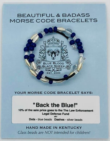 "01 Back the Blue! (Benefits officers thru ""The Law Enforcement Legal Defense Fund"")"