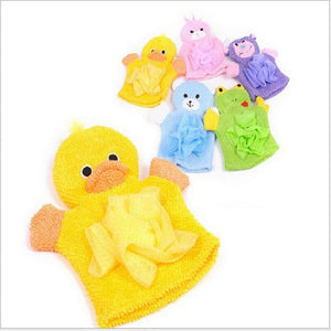 1 PCS 5 Colors Cute Children Baby shower bathing bath towel Animals Style Shower Wash Cloth Towels
