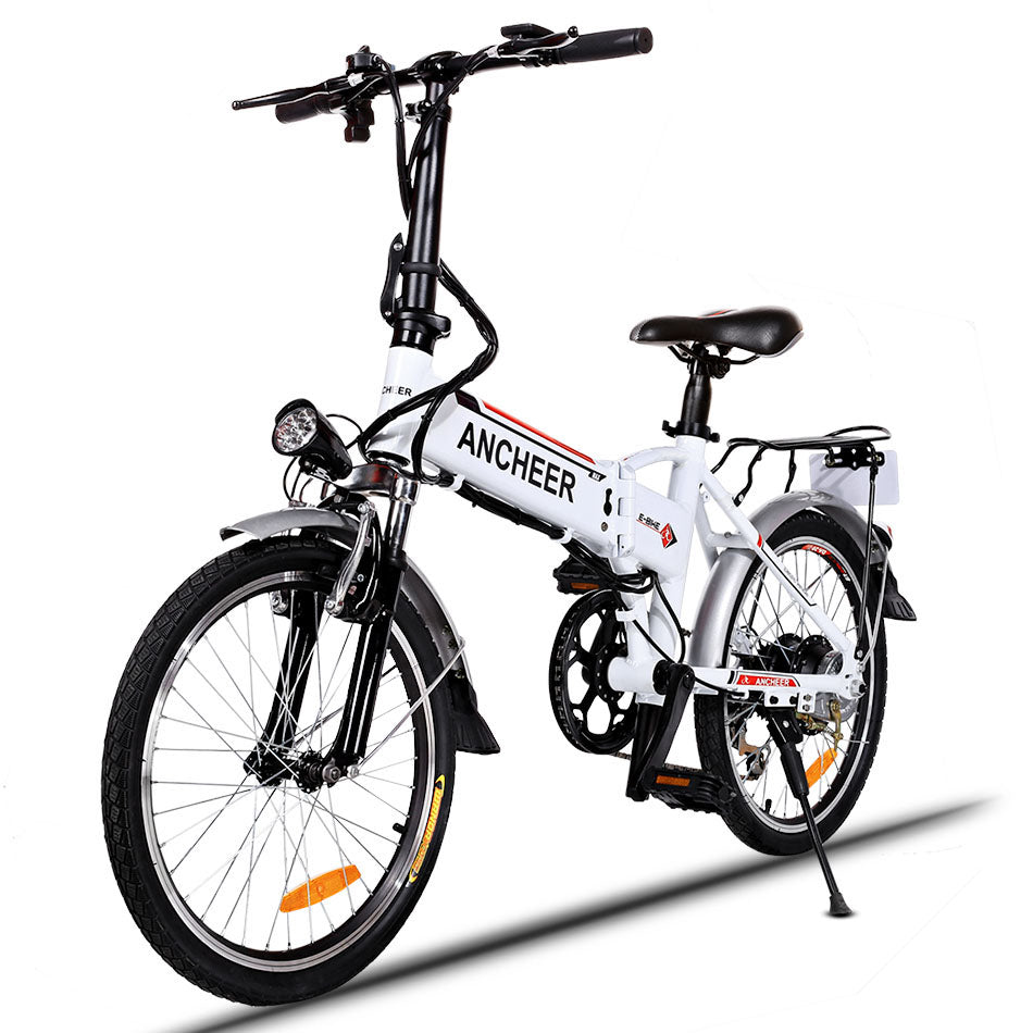 18.7 inch 7 Speed EBike Folding Aluminum Alloy Bike Lithium Battery Electric Bike Bicycle City Cycling Electric Bicycle