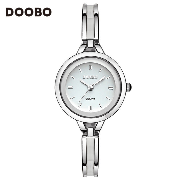 2017 Luxury Women Watch Famous Brands Gold Fashion Design Bracelet Watches Ladies Women Wrist Watches Relogio Femininos DOOBO