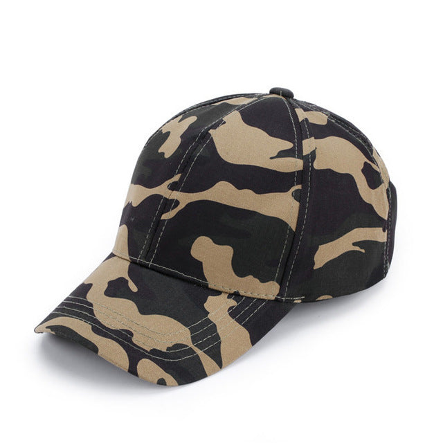 2017 Wearzone Mens Army Camo Cap Baseball Casquette Camouflage Hats For Men Hunting Camouflage Cap Women Blank Desert Camo Hat