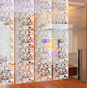 20PCS Room divider Room partition wall room dividers Partitions PVC Wall stickers room dividers partitions folding Screen